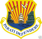STICKER USAF   6TH AIR MOBILITY WING