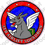 STICKER USAF   4TH AIRLIFT SQUADRON