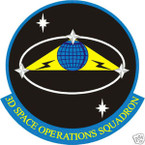 STICKER USAF   3RD SPACE OPERATIONS SQUADRON