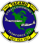 STICKER USAF   1ST STRATCOMM WING