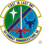 STICKER USAF   1ST COMBAT COMMUNICATIONS SQUADRON