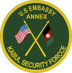 STICKER USAE UNIT US Embassy - Annex - Kabul Security Force
