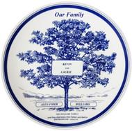 Wedding FamilyTree Plate