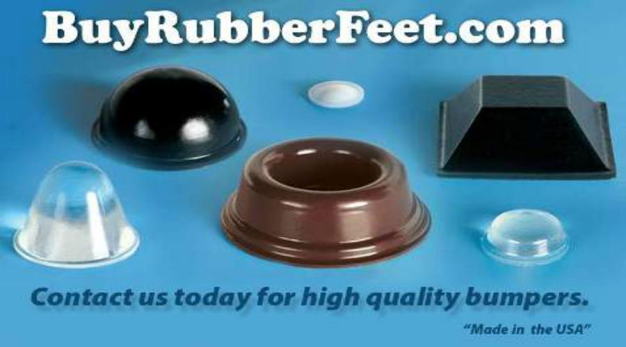 Rubber Bumper Feet