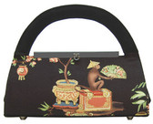 Liz Soto Exotic Monkey Fabric Handbag