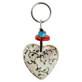 From the Orna Lalo Treasures collection a fun, playful key ring.  Made of durable resin in Bulgaria.