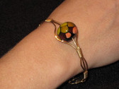 Glass Art Jewelry by Pola Galindo - Glass Bead Bracelet