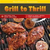 Host a thrilling grilling party or give as a gift to a grilling enthusiast!   Sharon O'Connor brings you favorite recipes for gathering friends around the grill! You'll be a hero with these simple, full-flavored and perfectly-seared meats, chicken, seafood, and vegetables! Recipes for marinades, sauces and rubs also included.   The music CD featuring a sizzling blend of rock, blues, and funk sets a fun party mood.   The easy to clean, sturdy recipe cards- featuring an inspiring food photo of each dish, practical grilling tips, and shopping lists - travel conveniently from the kitchen to the grocery store.    16 Recipe Cards •Grilled New Orleans-Style Shrimp •Stuffed Portobello Mushrooms with Spinach and Parmesan •Northwest Salmon with Cucumber-Dill Sauce •Wine Country Grilled Chicken •Southwest Grilled Chicken with Avocado Salsa •Spicy Chicken with Kansas-City-Style Barbecue Sauce •Greek-Style Chicken Kebabs •Grilled Corn on the Cob with Spicy Lime Butter •Grilled Zucchini and Green Onions with Rosemary Vinaigrette •Texas-Style T-Bone Steaks with Tomato Salad •Steak Florentine •Manhattan-Style Grilled Filets Mignons •Miami-Style Steaks with Citrus Mojo •Pork Tenderloin with Bourbon-Orange Molasses Sauce •Grilled Pineapple with Rum Sauce and Vanilla Ice Cream •Three Classic Sauces for Grilling   Rock & Soul Music CD 1.Boogaloo at The Barbecue 2.My Grill 3.Soul Slaw 4.Boss Sauce 5.Lookout For The Cookout 6.Barbecue Beach 7.Grillin' Is Thrillin' 8.Slow Cookin' 9.You Don't Barbecue Enough 10.Last Barbecue of the Year