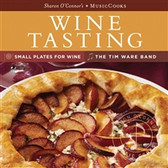Host a fabulous wine tasting party or bring as a hostess gift!   In this very popular MusicCooks, Sharon O�۪Connor brings you favorite recipes for wine tasting and casual dinners. You�۪ll find great tips for hosting a wine tasting party and pairing wine with food.   The music will carry you off the wine country with the perfect blend of bluegrass, classical, jazz and country.   The easy to clean, sturdy recipe cards���featuring an inspiring food photo of each dish, cook�۪s tips, and shopping lists���travel conveniently from the kitchen to the grocery store.    16 Recipe Cards •Crostini, Five Ways •Little Mushroom Terrines •Provencal Vegetable Terrine •Gratin of Potatoes and Leeks •Plum and Goat Cheese Tart •Spanish Potato Omelette •Sesame Noodle Salad •Garlic Shrimp •Salmon-Corn Cakes •Prosciutto-Wrapped Chicken, Toasted-Almond Pesto •Penne with Zucchini and Italian Sausage •Renaissance-Style Lamb Chops On Spinach, Pine Nuts, Raisins •Fresh Strawberries, Mascarpone and Balsamic Vinegar •Warm Bittersweet Chocolate Cakes •Wine-Soaked Grape Cake   Wine Country Music CD 1.Bossa de Bomba 2.Sonoma Tango 3.Bisonette 4.Seaborne Clouds 5.Sahara Strut 6.Spiral Moons 7.Shelter from the Norm 8.On the Wine (And Under the Weather)/Endless 9.Lizardology 10.Mandolin 7 11.Idiot Glee
