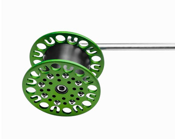 GREEN ULTIMATE RATTLE REEL