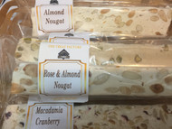 Rose and Almond Nougat.