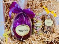 Easter Gift Hamper  Foiled Easter Egg Speckled Egg Freckle Eggs
