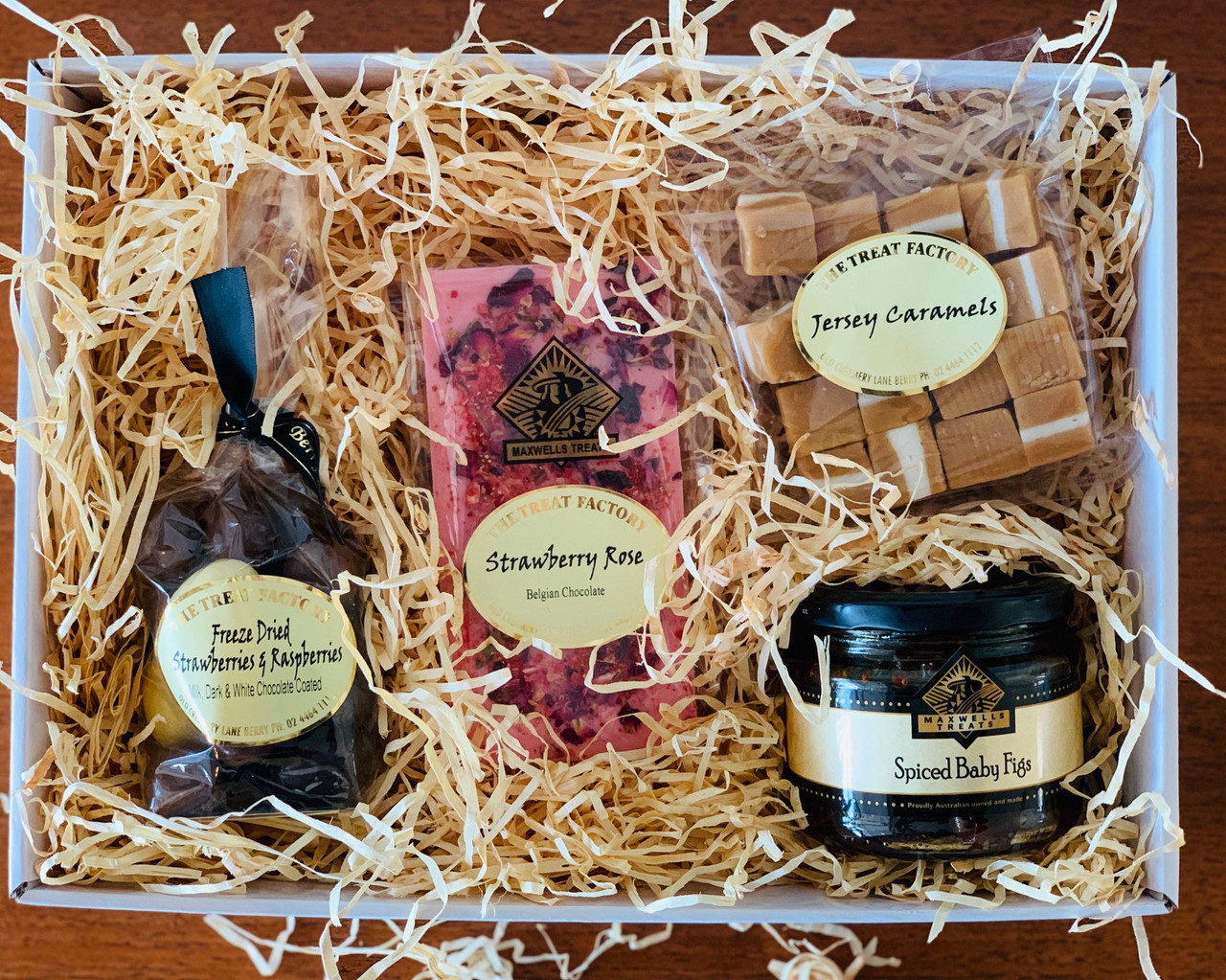 mother's day treats hamper gift box  the treat factory