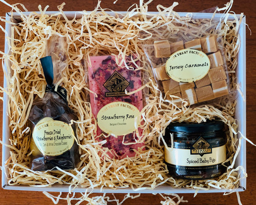 Mother's Day Gift Treat Hamper Box Gourmet Chocolates, Condiments and Confectionary