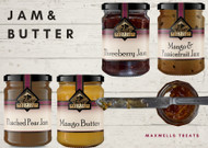 Fig & Walnut Jam MAxwells Treats