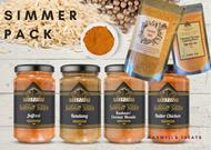 Simmer Sauce Dinner Pack Gourmet  Maxwells Treats