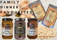 Family Dinner Favourites Simmer Sauce Dry Rubs Spice Blends Maxwells Treats Gourmet Dinner at home Australian Made