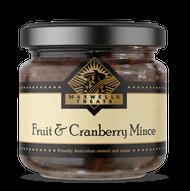 Fruit & Cranberry Mince Maxwell's Treats Christmas  Australian Made