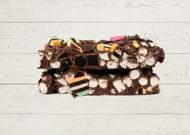 Licorice Rocky Road Belgian Dark Chocolate Luxe Rocky Road Gourmet Rocky Road Licorice Allsorts Licorice Twists Berry NSW  The Treat Factory