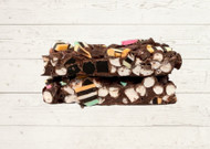Licorice Rocky Road Belgian Milk Chocolate The Treat Factory Berry NSW Australian Made