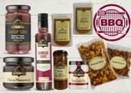 BBQ King Gift Hamper Box Australian BBQ Gourmet Foods Sauce Dressings Rubs Marinades