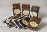 Rum & Raisin Dark Belgian Chocolate Bar