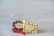 Raspberry Jellies in White Chocolate