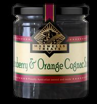 Cranberry & Orange Cognac Sauce Maxwell's Treats The Treat Factory