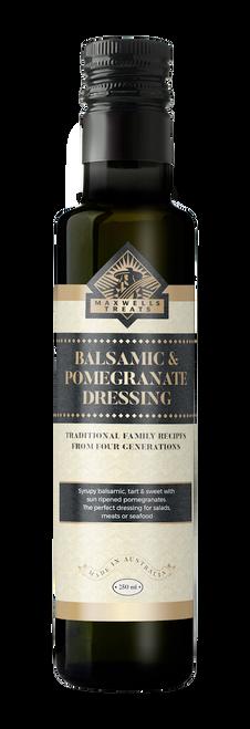 Balsamic & Pomegranate Dressing Salad Dressing Maxwell's Treats The Treat Factory