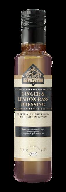 Ginger & Lemongrass Dressing Maxwell's Treats The Treat Factory