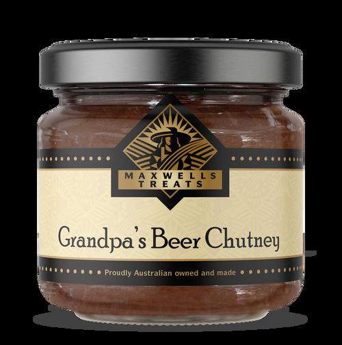 Grandpa's Beer Chutney Maxwell's Treats The Treat Factory