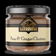Pear & Ginger Chutney Maxwell's Treats The Treat Factory
