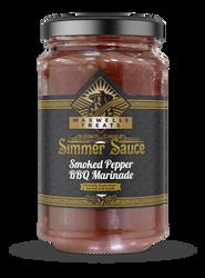 Smoked Pepper BBQ Marinade Simmer Sauce Maxwell's Treats The Treat Factory