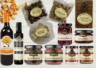 Gourmet Food & Wine Hamper Decadent Treats. Sweet and Savoury.  Maxwells Treats The Treat Factory