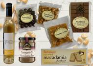 Macadamia Lovers Gourmet Food Gift Hamper. Australian.