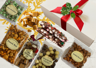 Christmas Gourmet Nibble Hamper Sweet and savoury treats.