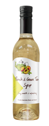 Peach & Green Tea Syrup Cocktail Syrup Spritzer Syrup Maxwell's Treats The Treat Factory