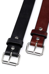Thick Leather Gun Belt
