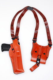 Leather DESERT EAGLE Vertical Shoulder Holster