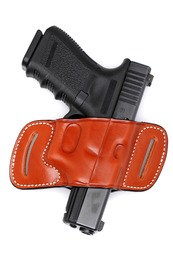 Skeleton Belt Slide Leather Holster