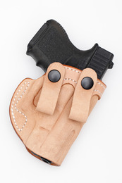 Leather Inside the Waist Band (IWB) Concealment Holster - www