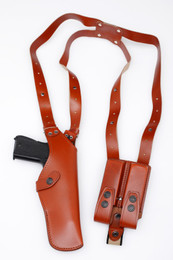 Vertical Leather Shoulder Holster
