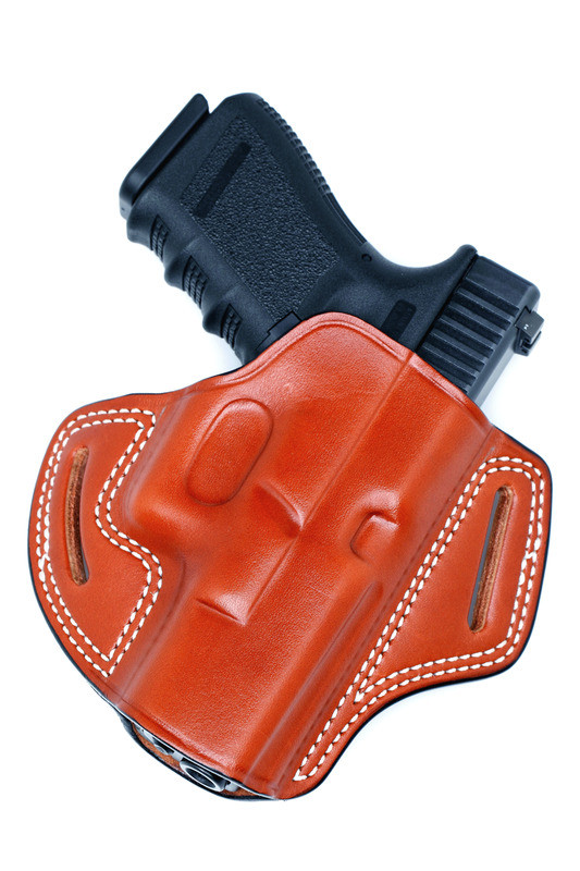 Leather PANCAKE Holster - Open Top