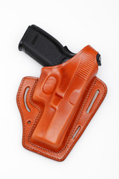 Molded Leather Pancake Holster