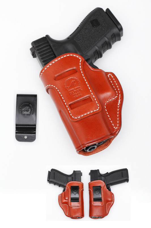 Leather Inside the Waist Band (IWB) Concealment Holster