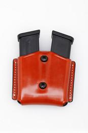 Premium Leather DOUBLE Magazine Case