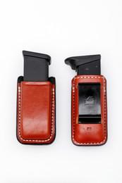 Premium Leather SINGLE Magazine Case