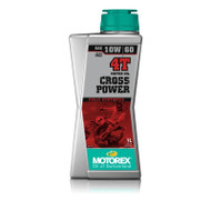 MOTOREX Motor Oil - Cross Power 4T | 10W/60 Oil 1 Litre (MCP005)
