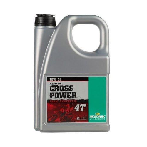 MOTOREX Cross Power 4T 10/50 Oil 4 Litre