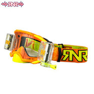 RnR Platinum WVS System Roll Off Goggles 48mm - Neon Orange